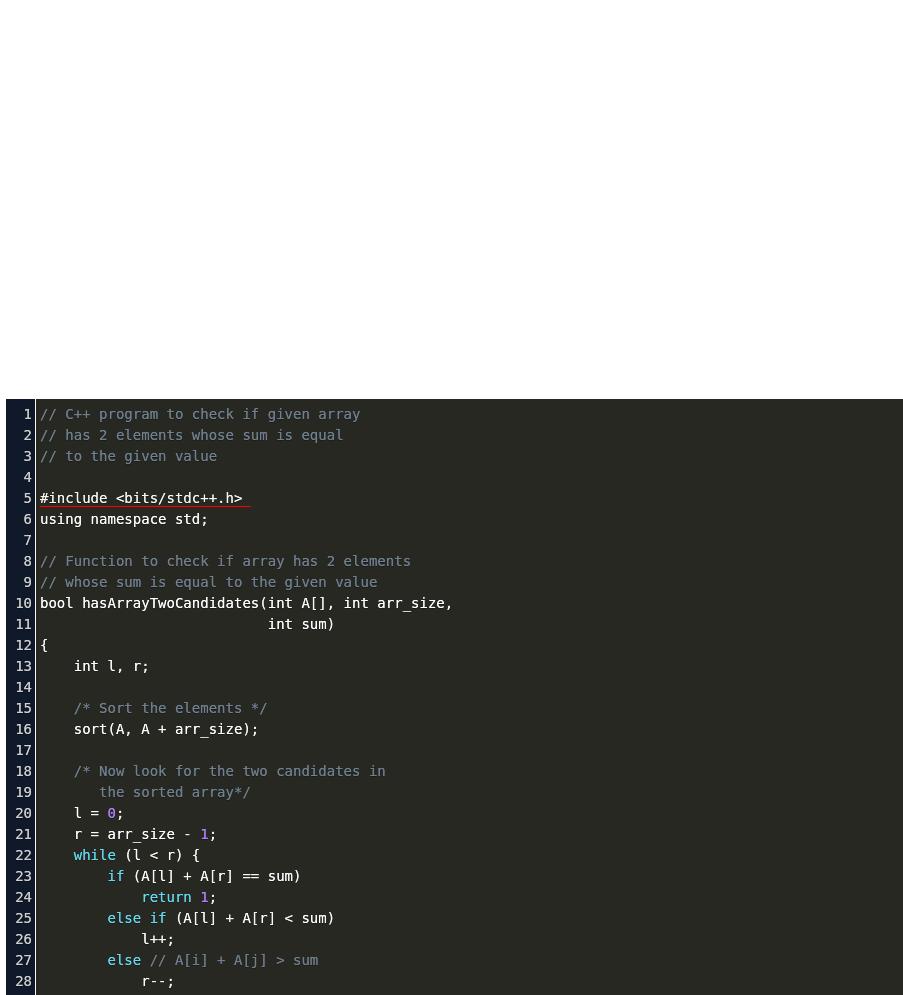 Arraylist Return Pair Sum In Array Code Example