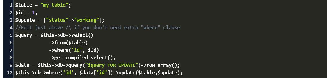 Get Where Codeigniter Code Example