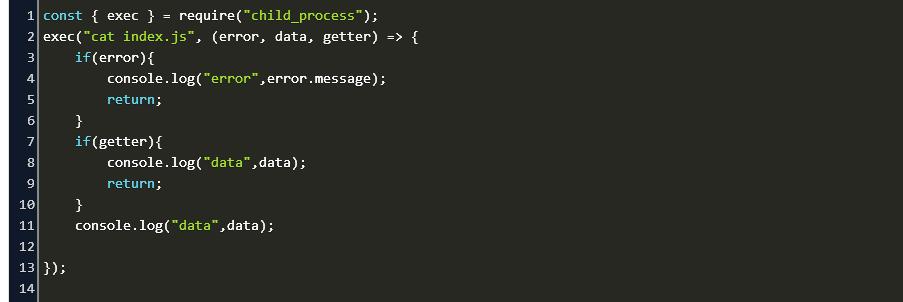 Javascript Run Shell Command Linux Code Example
