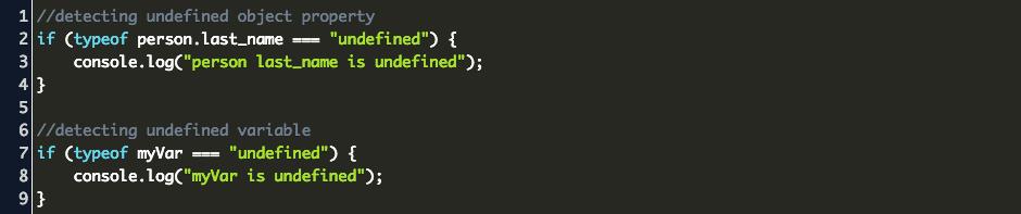 Typeof javascript