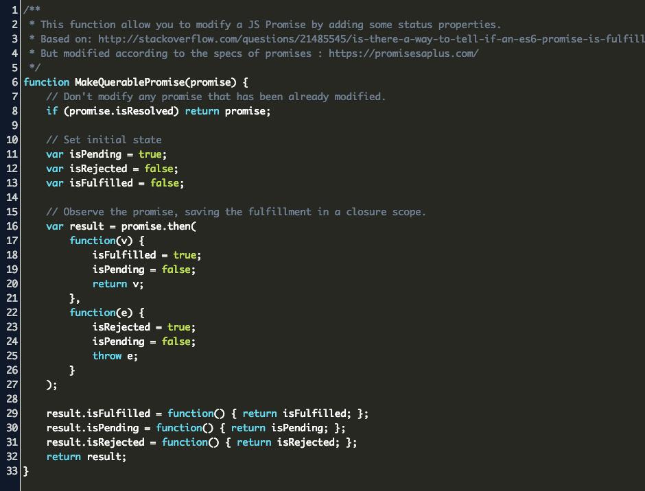 Js Promisestatus Code Example
