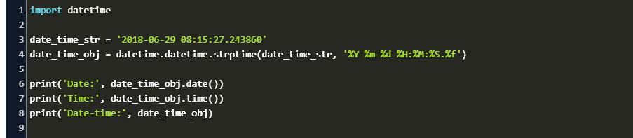 Utc Datetime Python