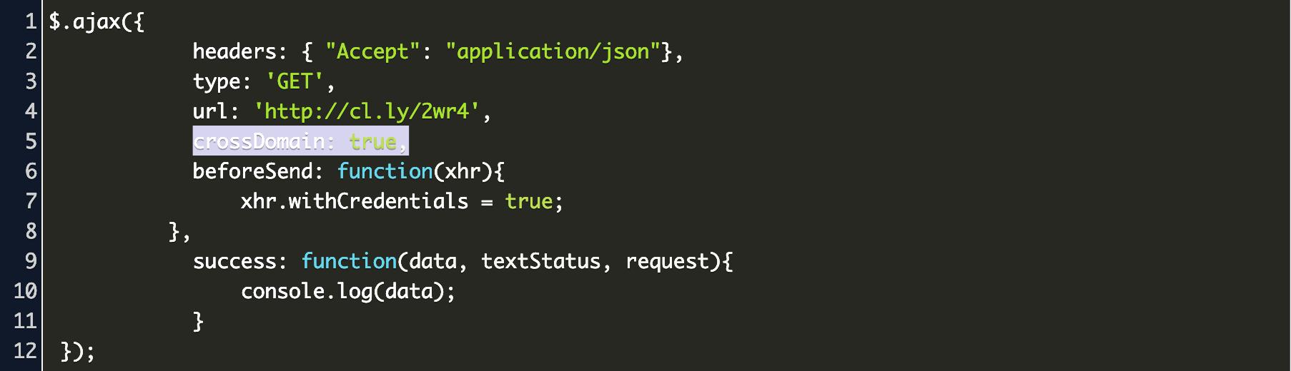 simple cors error fix Code Example