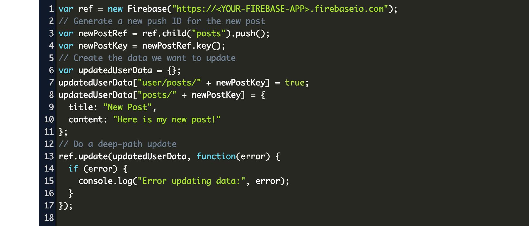 Sort Key Value Array Firebase Database Code Example