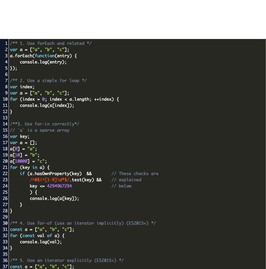 typescript foreach index example Code Example