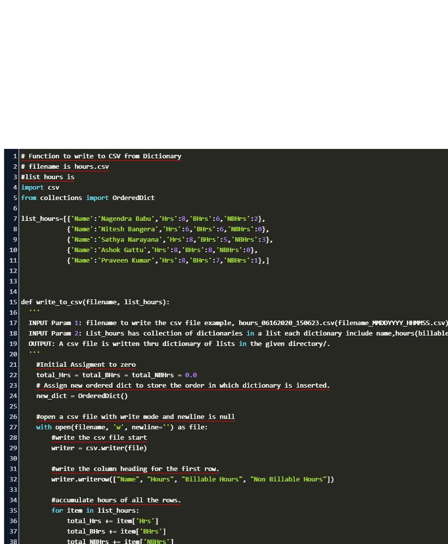 write dictionary to csv python Code Example